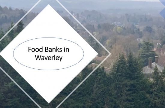 Discover more about food banks in Waverley